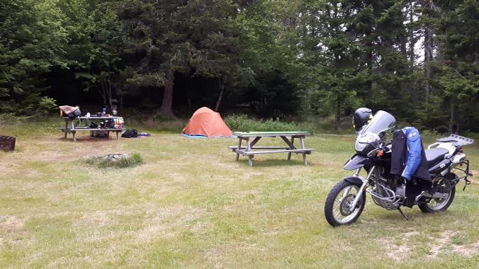 Deer Island Campsite